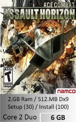 Ace Combat Assault Horizon  [ 6 GB ]